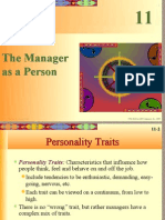 Chpt11 the Manager as a Person