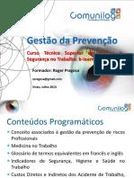 Apresentação - Gestão Da Prevenção - Roger Pragosa