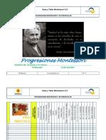 FP-PE-01-10 PROGRESIONES MONTESSORI 3° DE PREESCOLAR