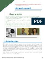 Unidad 4. Uso de Estructuras de Control