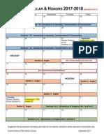 2017-18 geometry suggested pacing revised calendar