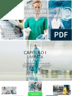 Desinfección y Esterilización Hospitalaria