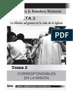 Corresponsables en la Misión