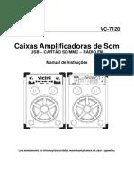 Portuguese User Manual Vc 7120