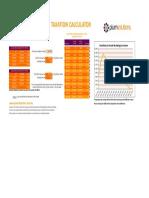 2013 Tax Bracket Calculator