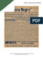 Bandera Negra N° 21 - Febrero 1957