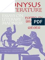 Greek Deity Dionysus; Greek Deity Dionysus; Dionysos.; Rieger, Branimir M Dionysus in Literature Essays on Literary Madness