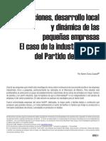 La Industria Textil Del Partico de Moreno_CEFIRO N 1_2014