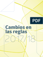 Cambios Reglas de Juego 2017.2018
