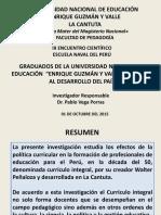 PPT VEGA GRADUADOS SET 2015.pptx