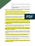 Funciones Del Cenepred Segun Regñamento y Ley (Actualizadas)
