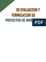 Libro Formulacion y Evaluacion de Proyec