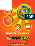 Manual de Expositores Expocruz 2017