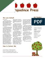 newsletter 9-22-17