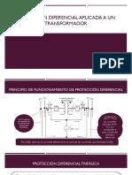 Protección Diferencial Aplicada a Un Transformador
