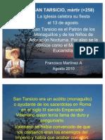 SAN TARSICIO Y SAN LORENZO Mártires
