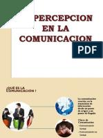 La Percepcion en La Comunicacion - Copia