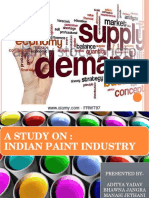 INDIAN PAINT INDUSTRY LATEST