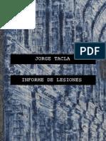 Informe de Lesiones - Catálogo UCME 2016
