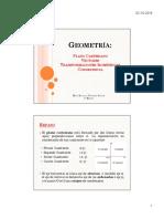 Unidad 3, Geometria Vectores