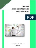 Manual Planeación Estratégica de Mercadotecnia