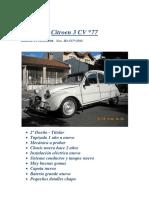 Citroen 3 CV en Venta