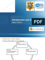 Modulo I - Sesión 01.Introducción Lean Six Sigma