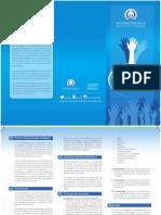 Brochur v Premio Voluntariado Solidario