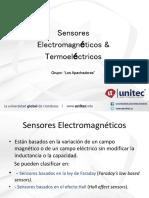 Sensores Electromagnéticos y Termoelétricos