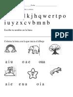 Evaluacion Español 1