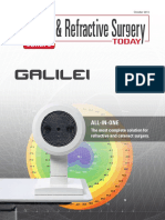 Cataract and Refractive Surgery Europe (October 2013) - GALILEI