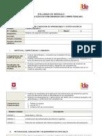 Syllabus Evaluación y Medición de Aprendizajes y Certificación de Competenncias II (1)
