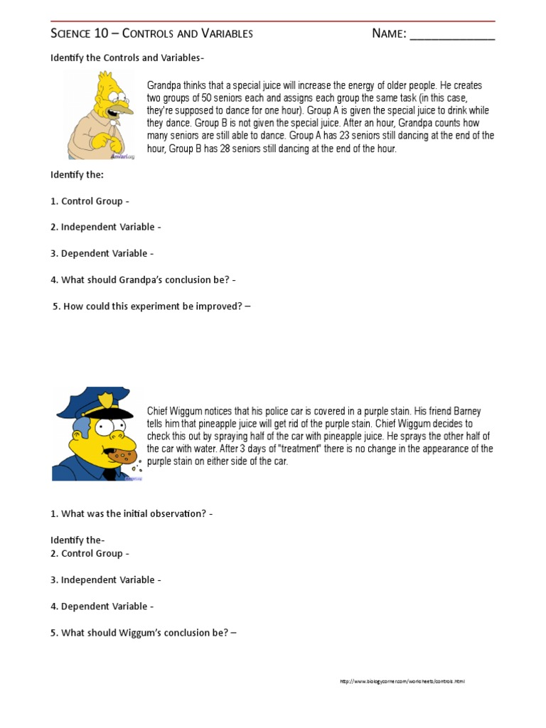 Worksheets Simpsons Scientific Method Worksheet worksheet simpsons scientific method fun photos highqualityeducation worksheets