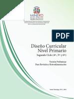 Versión Preliminar Nivel Primario 2do Ciclo-2014