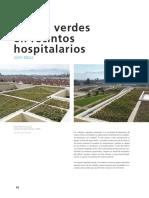 Techos Verdes en Recintos Hospitalarios