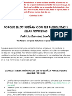 PORQUE ELLOS SUEÑAN CON SER FUTBOLISTAS Y ELLAS PRINCESAS_Patricia Ramirez Loefer_Apreciacion Personal