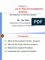 Chapter 1_Introduction to the Environmental Studies