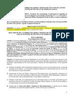 Ordenamiento Torres Jalisco