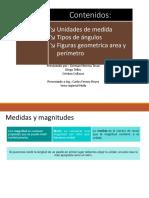 Unidad de Medidas , Angulos , Geometria Area , Perimetro