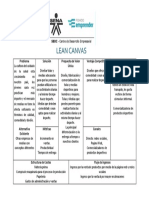 Lean Canvas Hyc Soluciones