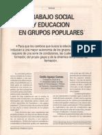 Trabajo Social y educación en grupos populares.pdf