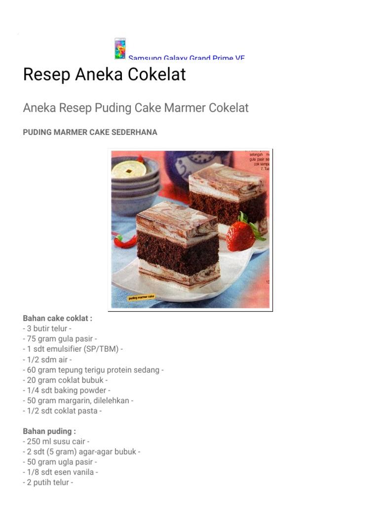 Harga Jual Coklat Pasta Update 2018 Produk Ukm Bumn Suscho Sus Surabaya Resep Aneka Cokelat Puding Cake Marmer