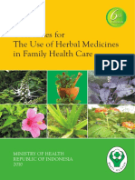 Guidelines for the Use of Herbal Medicine Ministry of Health