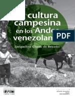 La Cultura Campesina en Los Andes Venezolanos