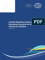 Linked Ship Shore Emergency Shutdown Systems for Oil and Chemical Transfers