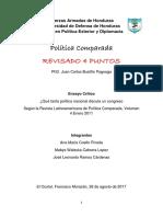 ENSAYO DE POLÍTICA COMPARADA