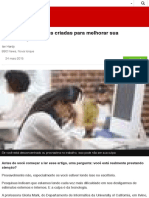 Conheça tecnologias criadas para melhorar sua concentração - BBC Brasil