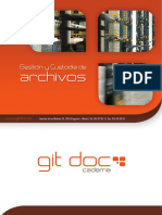 Custodia documentos