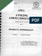 Dos Piezas Características, Op.22 (Drangosch)