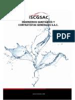 Brochure - Ingenieros Sanitarios y Contratistas Generales s.a.c.